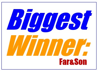 Biggest Winner: Far&Son